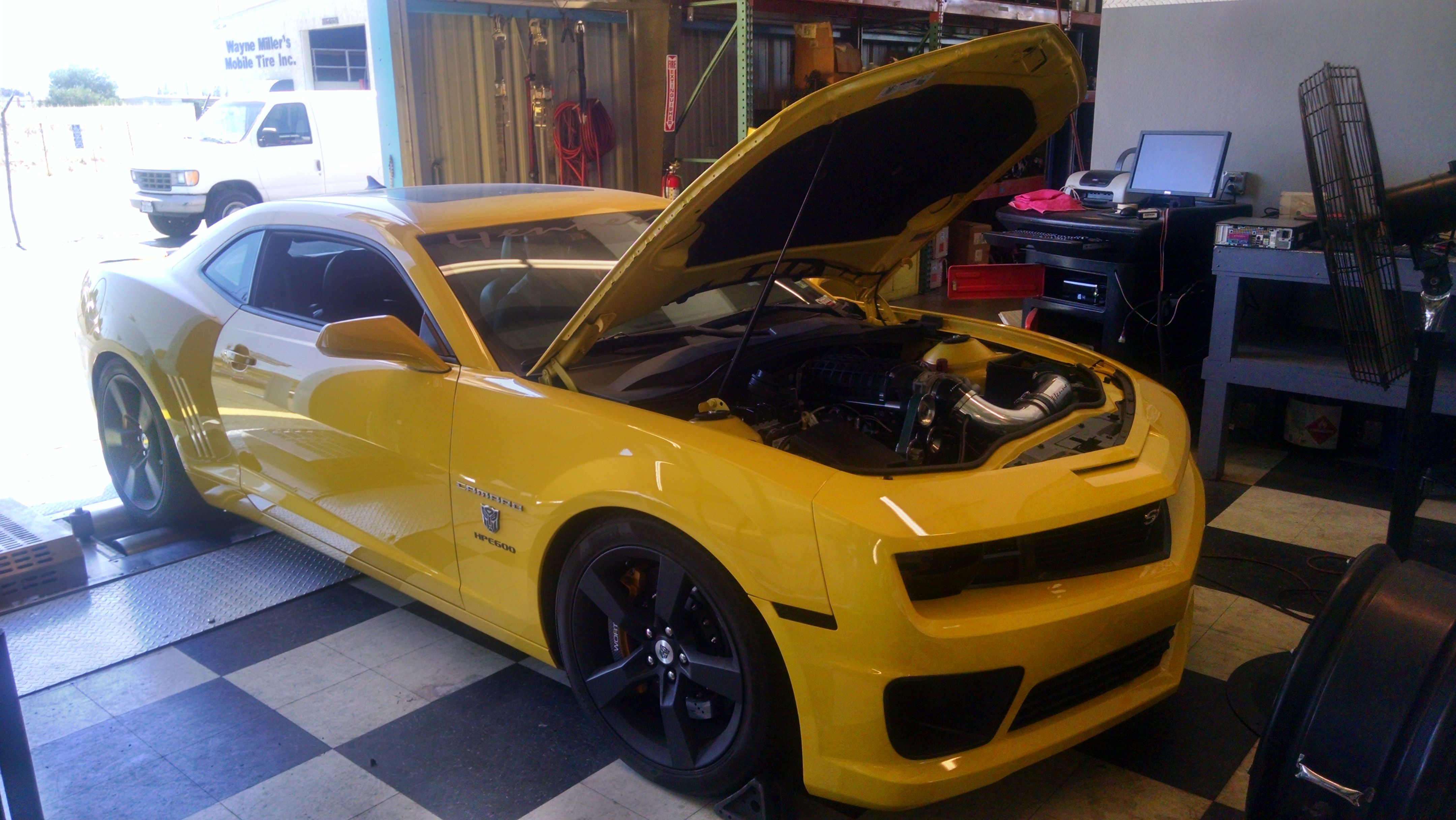 Hennessey Camaro CCC Motorsports - Muscle car tuning shop